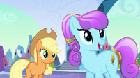 Crystal mare approves of the idea S3E2