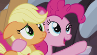 Pinkie -you'll do great in the flag finding mission!- S5E20