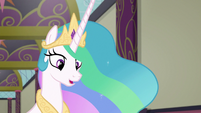 "Princess Celestia ""before you can move forward"" S8E1"