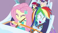 "Rainbow ""you're probably super-nervous"" EGROF"