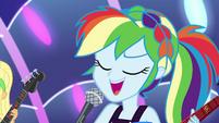 """Rainbow Dash """"let me see that smile"""" EGSB"""