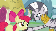 S02E06 Zecora pociesza Apple Bloom