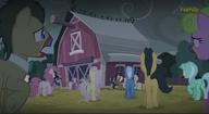 S06E15 Zombie kucyki podchodzą do stodoły