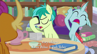 Sandbar and Ocellus groaning S8E22