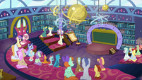 School of Friendship students in a classroom S8E15