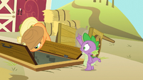 """Spike """"allow me to assist you further!"""" S03E09"""