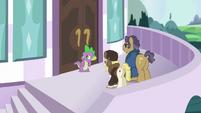 Spike -can you talk a little quieter-- S5E10
