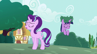 Starlight walking away from Twilight S6E6