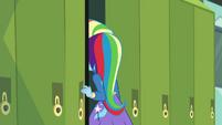 Trixie going through her school locker EGDS12b