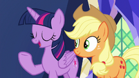"""Twilight """"this is what friendship is all about"""" S7E11"""
