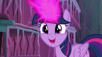 "Twilight Sparkle ""I think it's working!"" S8E26"