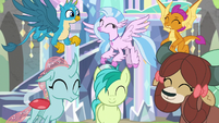 Young Six smiling with pride S9E3