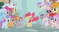 205px-The ponies admire Apple Bloom S2E06