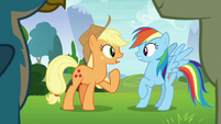 """Applejack """"with us in charge"""" S8E9"""