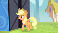 Applejack -you can't do a dive like that!- S4E20