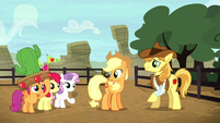Cutie Mark Crusaders return to the rodeo S5E6
