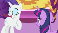 """Rarity """"ponies who need to see me!"""" MLPS1"""