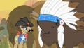 S01E21 Szeryf i wódz bizonów zgadzają się