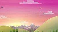 Sun rising over the horizon CYOE11a