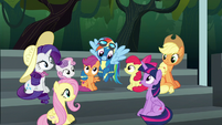Twilight asks about the Wonderbolts Reserves S6E7