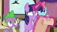 Twilight starting to look very worried S9E16