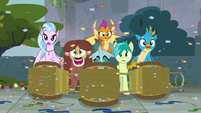 Yona impressed by the Mane Six S8E2