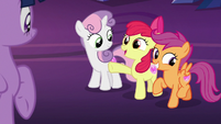 """Apple Bloom """"we're being called by the Map?"""" S8E6"""