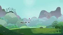 Dark clouds over Equestria are dispelled S9E25