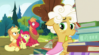 """Goldie Delicious """"in a couple of days"""" S7E13"""