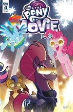 MLP The Movie Prequel issue 4 sub cover