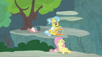 Pegasus Angel collapsing with fatigue S9E18