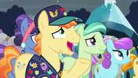 """Pin Pony """"And when that foal is held before the Crystal Heart"""" S6E2"""