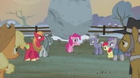 Pinkie Pie -it's tradition to raise a flag- S5E20