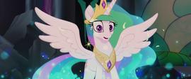 Princess Celestia turning back to normal MLPTM