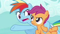 """Rainbow """"drop out for the Washouts!"""" S8E20"""