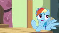 "Rainbow Dash ""I promised to help Pinkie Pie"" S6E11"