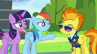 """Rainbow Dash """"let's not get carried away"""" S6E24"""