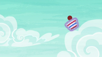 Snails catches Pinkie's ball in a basket S6E18