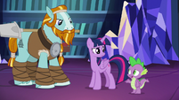 """Spike """"arguing over ice cream flavors"""" S8E21"""