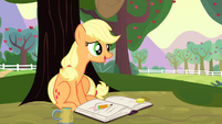 AJ -Now you take it easy there- S4E20