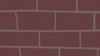 Brick wall over the screen S9E4