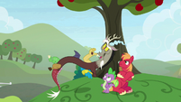 "Discord ""that time I caught Twilight"" S9E23"