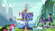 Exterior view of Castle of Friendship S8E8.png