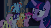 """Fluttershy """"who was that?"""" EG"""