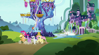 Mane Six leave on their friendship mission S8E15
