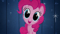 Pinkie Pie smiling at the fourth wall BFHHS4