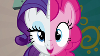 """Pinkie and Rarity """"we know what you need to do"""" S6E12"""