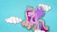 Princess Cadance flying through the sky BFHHS3