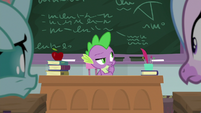 Spike thinking for a moment S8E21