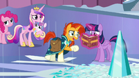 Sunburst --and provides it with power-- S6E2